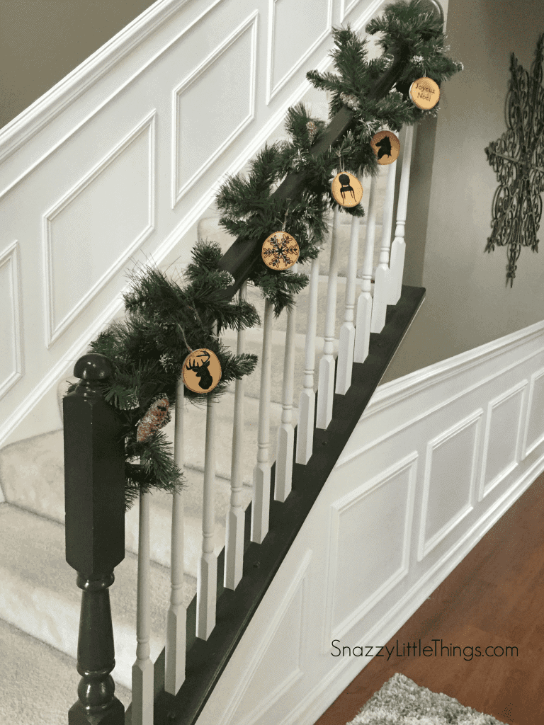Birch DIY Ornaments from DIO Home Improvements