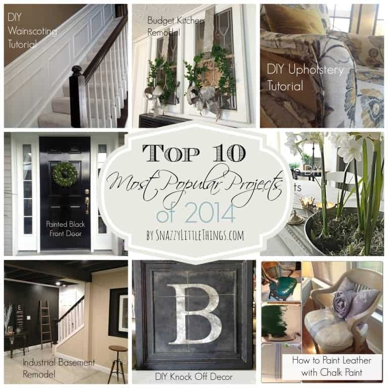 Top 10 DIY Projects of 2014