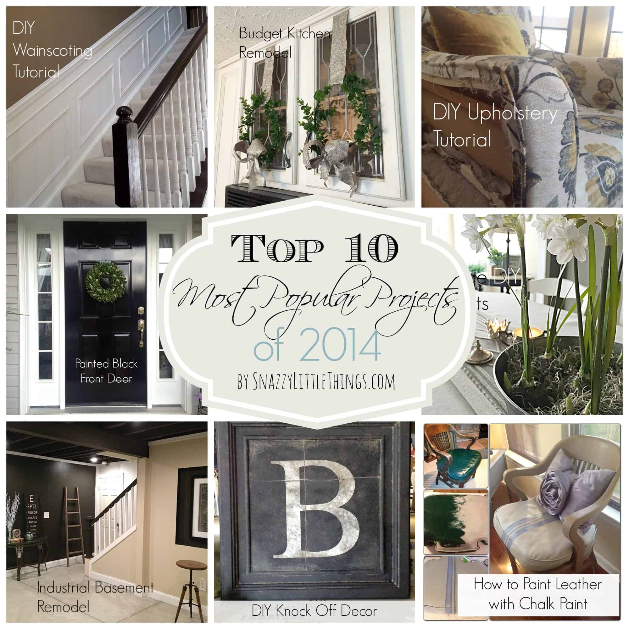 Top 10 DIY Projects 2014