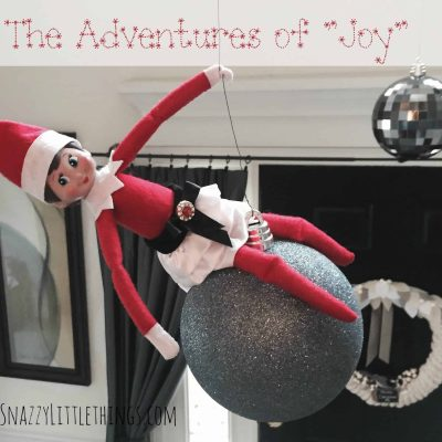 """Wrecking Ball"" Elf on the Shelf, by SnazzyLittleThings.com"