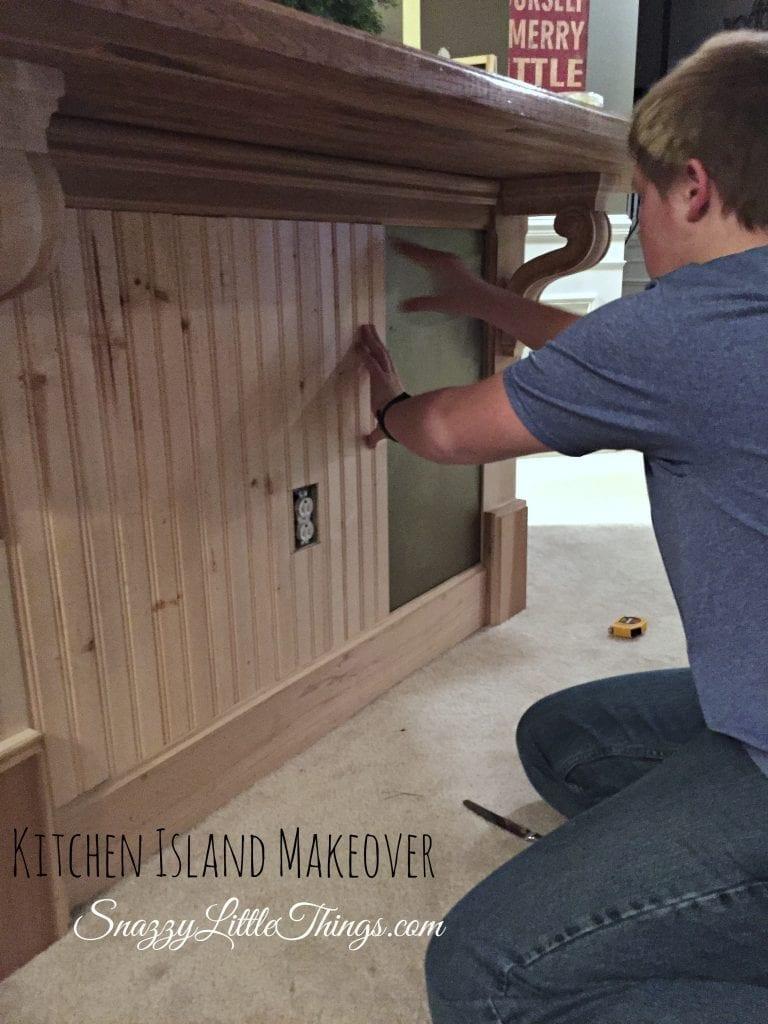 DIY Kitchen Island Makeover with Ikea Butcher Block