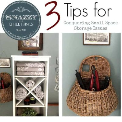 3 tips for conquering small space storage
