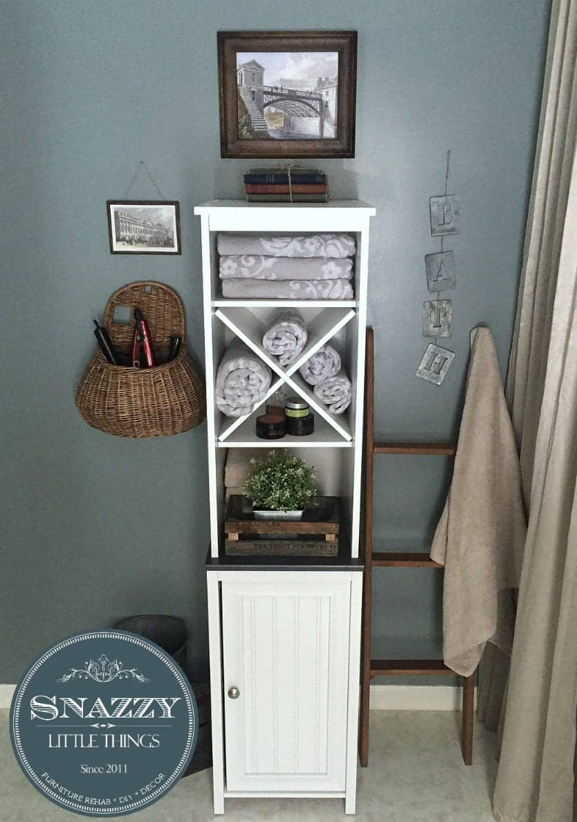 Caraway Wayfair Linen Closet  | by SnazzyLittleThings.com