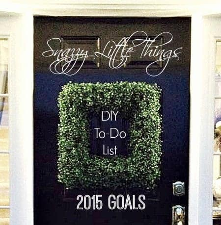 DIY To-Do List 2015 Cover