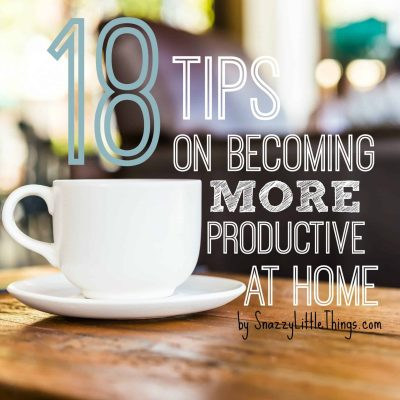 18 Tips to Improve Productivity