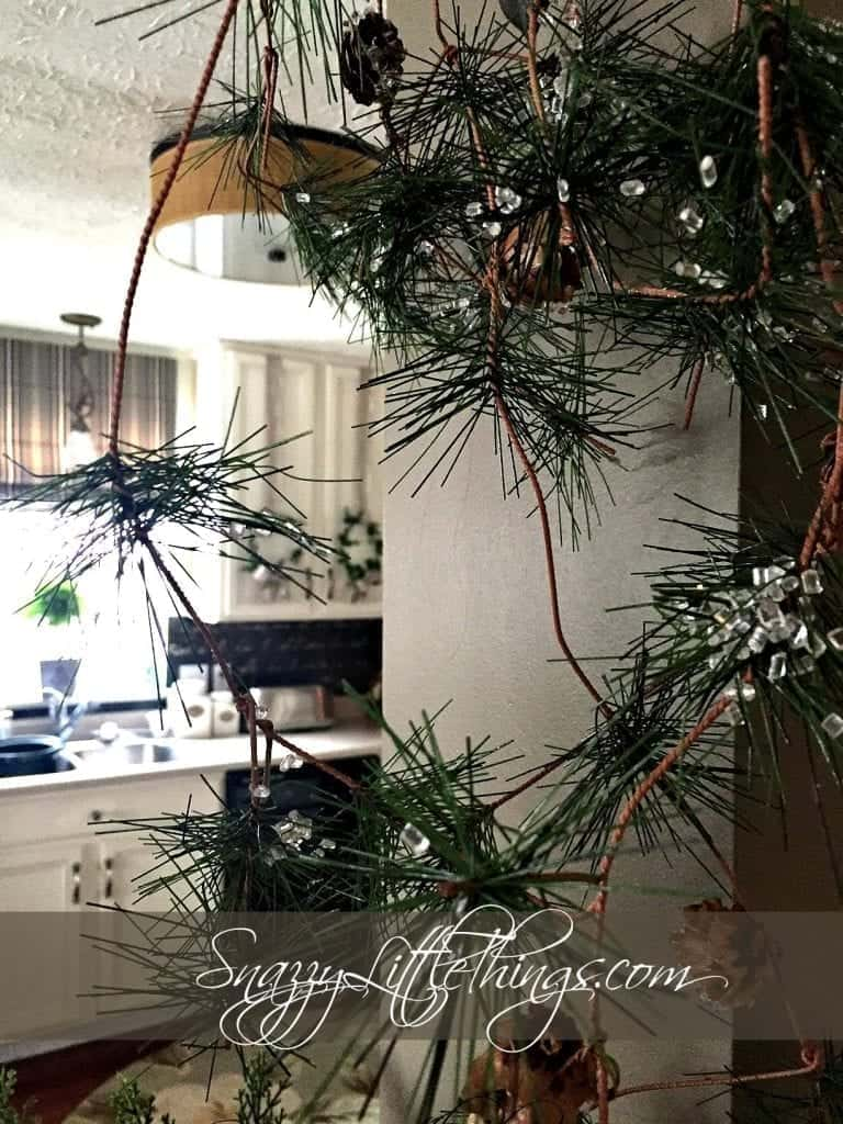 Winter Decor Ideas-Evergreen Accents