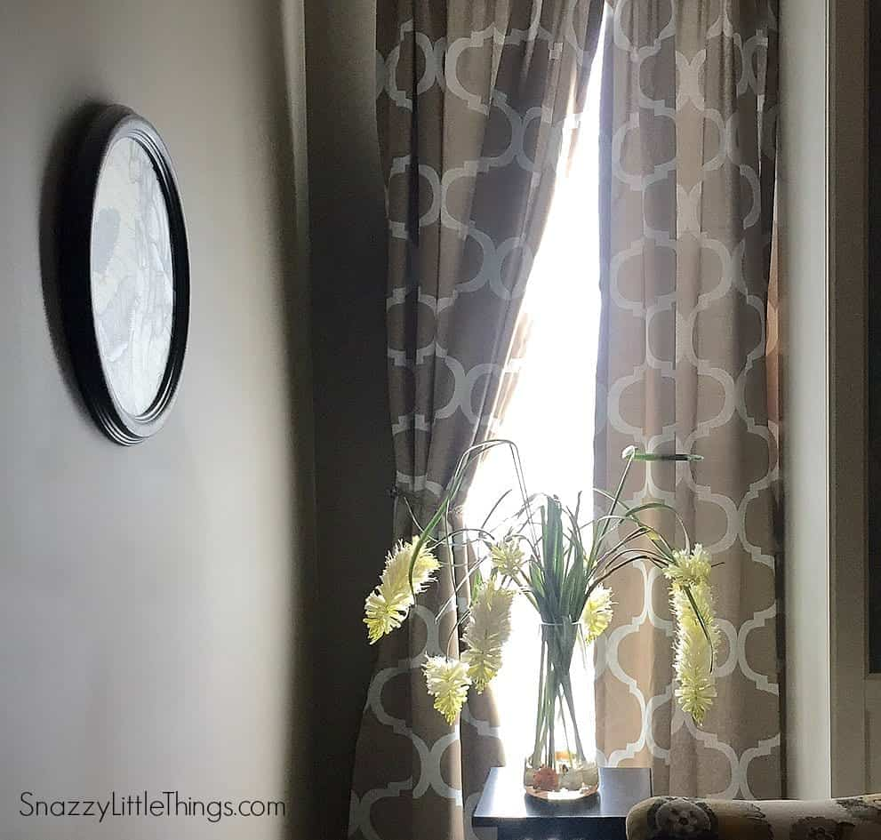 Blackout Curtains in Master Bedroom | by SnazzyLittleThings.com