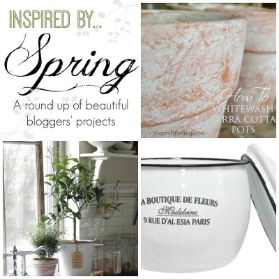 Vintage Springtime Decor