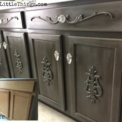 Bathroom Vanity Transformed….