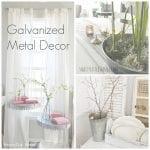 Friday Favorites: Galvanized Metal Decor
