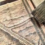 $40 Restoration Hardware Vintage Map Art