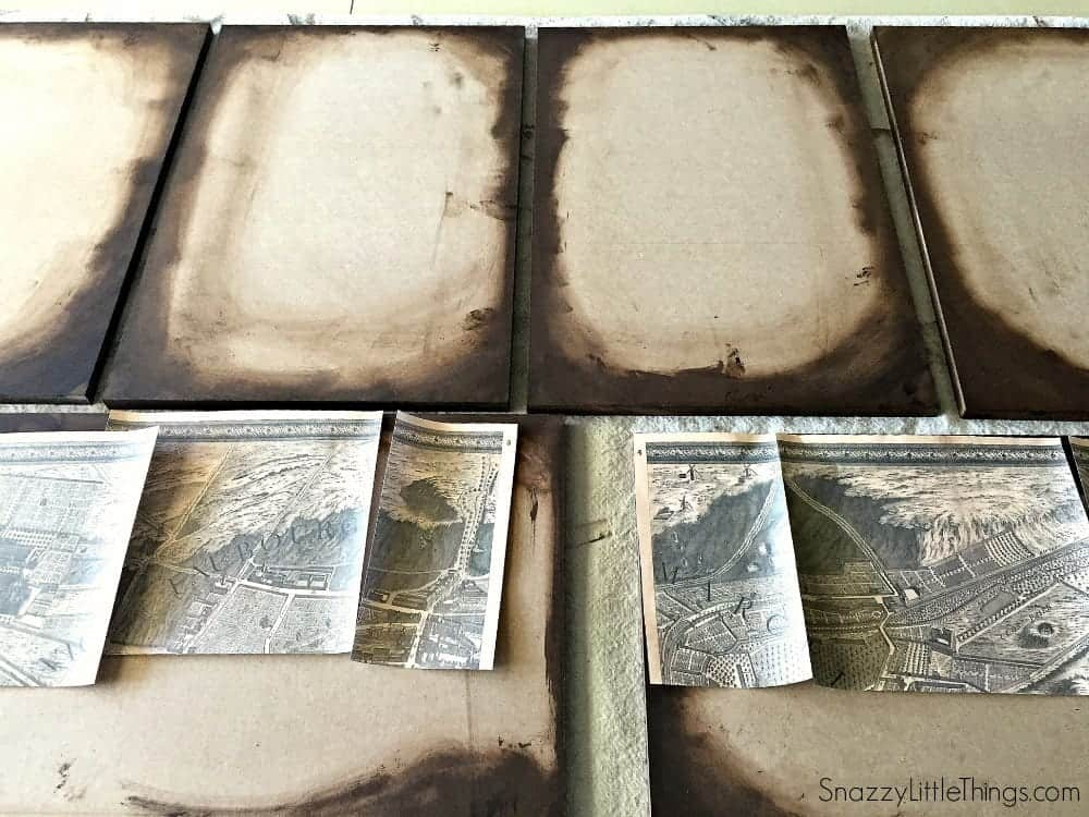 restoration hardware paris map knock off by snazzylittlethingscom - Restoration Hardware Halloween
