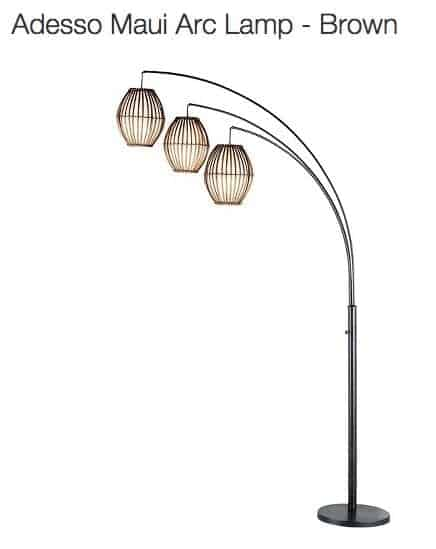 Friday Favorits: Target Floor Lamp | Snazzylittlethings.com