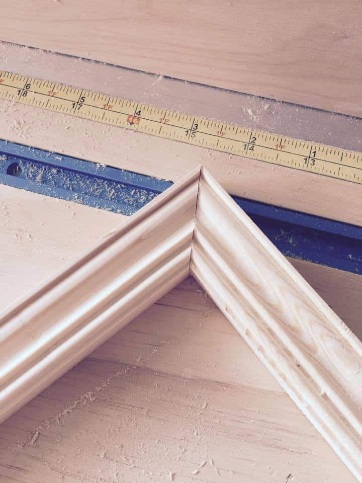 diy wood trim made with router by Snazzylittlethings