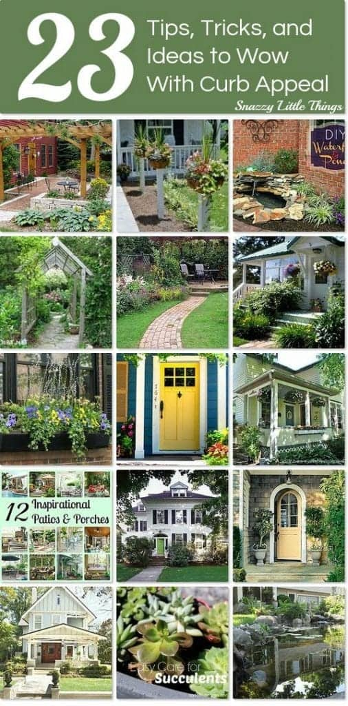 23 Curb Appeal Ideas on Hometalk! | by Jeanette at SnazzyLittleThings.com