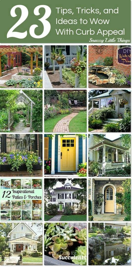 23 Ways to WOW with Curb Appeal