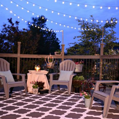 Deck Update Summer Home Tour @SnazzyLIttleThings