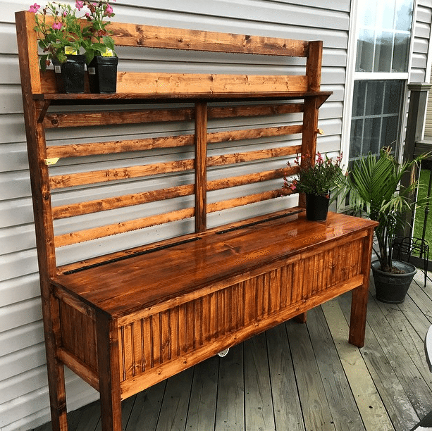 Budget Outdoor Hacks - Dual Purpose Furniture | By SnazzyLittleThings.com