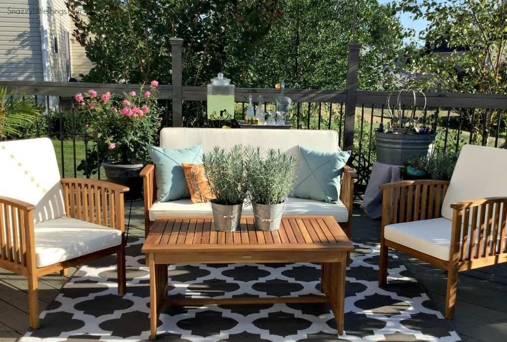 Deck Makeover Wayfair Furniture 4