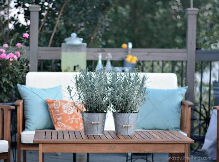 Deck Makeover with Wayfair Furniture 1