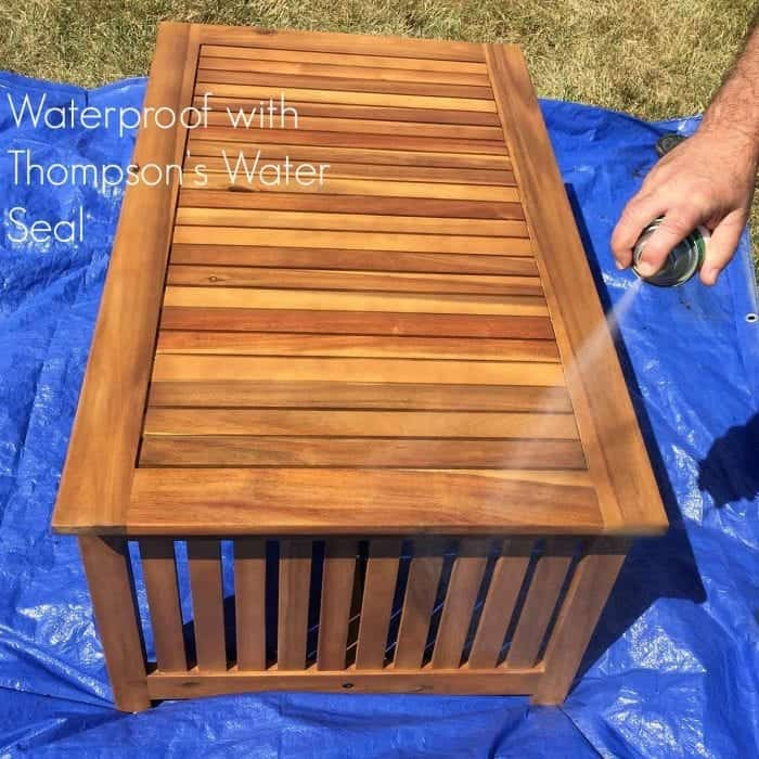 Waterproof with Thompson's Water Seal