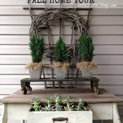 Fall is in the air…(home tour preview)