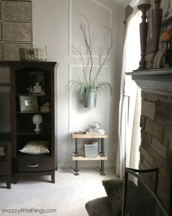 Fall Home Tour 2015 - Industrial Living Room