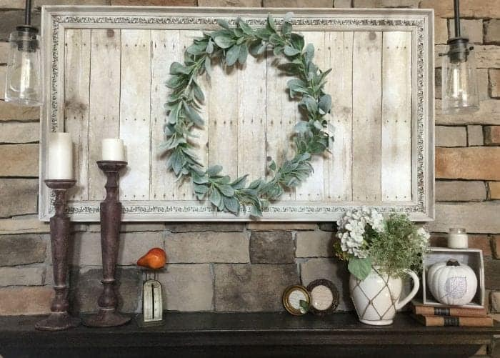Fall Mantel 2015