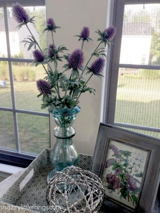 Thistle Fall Decorating