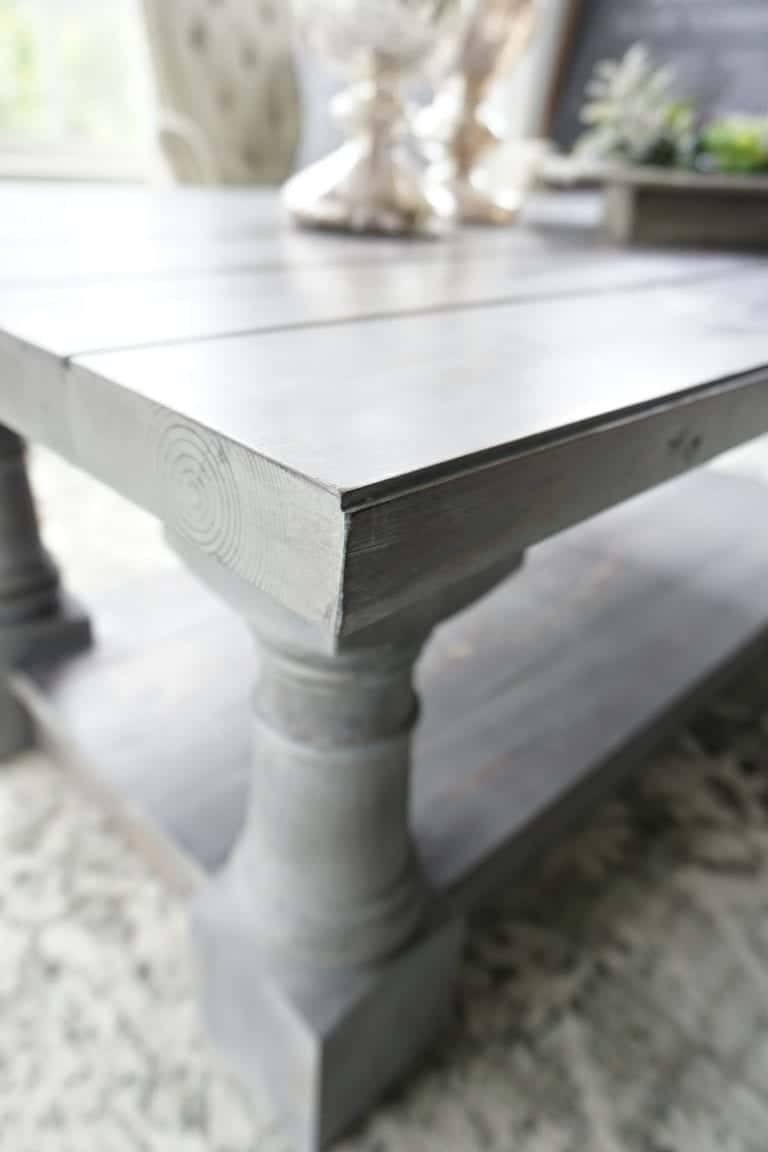 Restoration Hardware Coffee Table Knock-Off