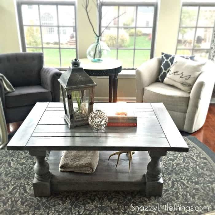 Coffee Table Inspired By Restoration Hardware S Monastery Coffee