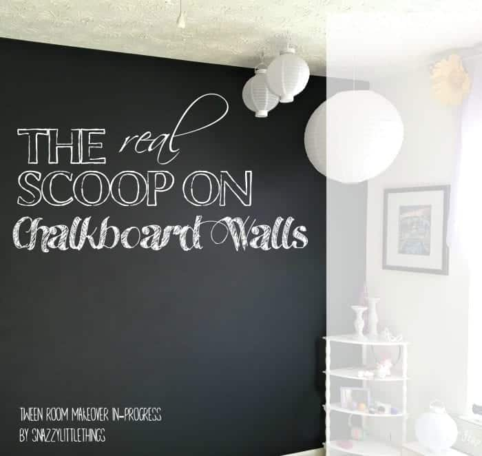The real scoop on chalkboard walls