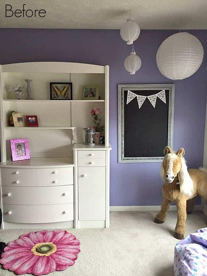Tween Bedroom Before 1