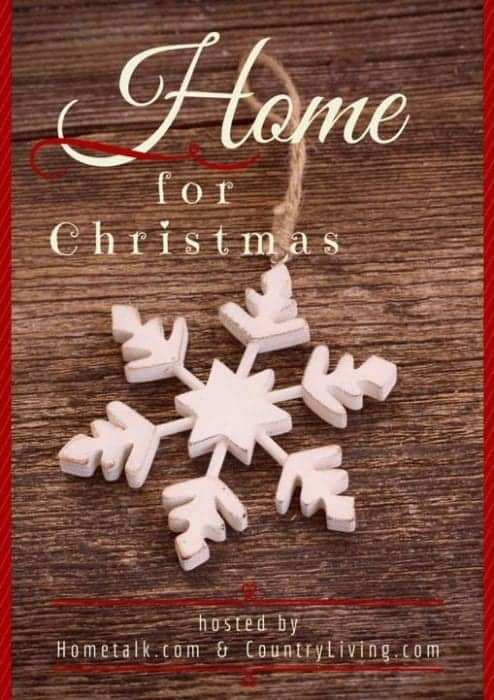 Home for Christmas Blog Hop by SnazzyLittleThings.com