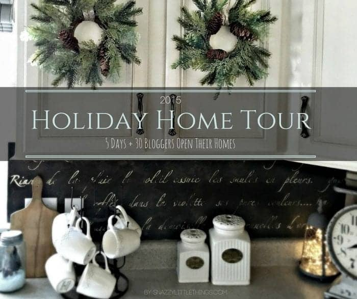 30 Bloggers Share their homes, Holiday Home Tour 2015 by SnazzyLittleThings.com