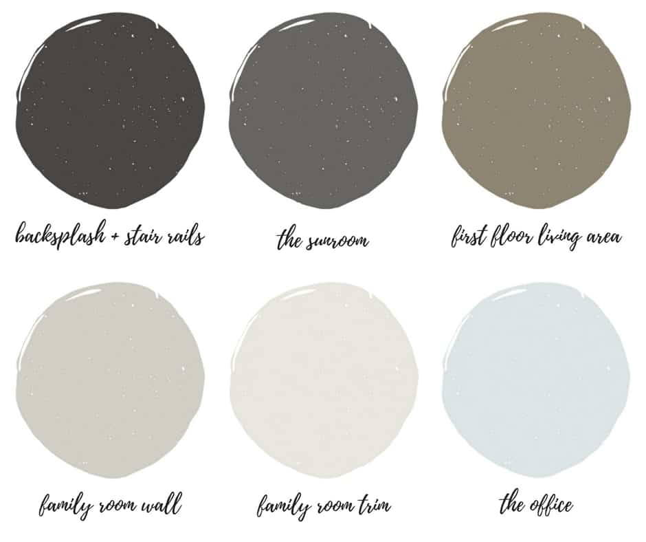 Interior Paint Swatches by SnazzyLittleThings