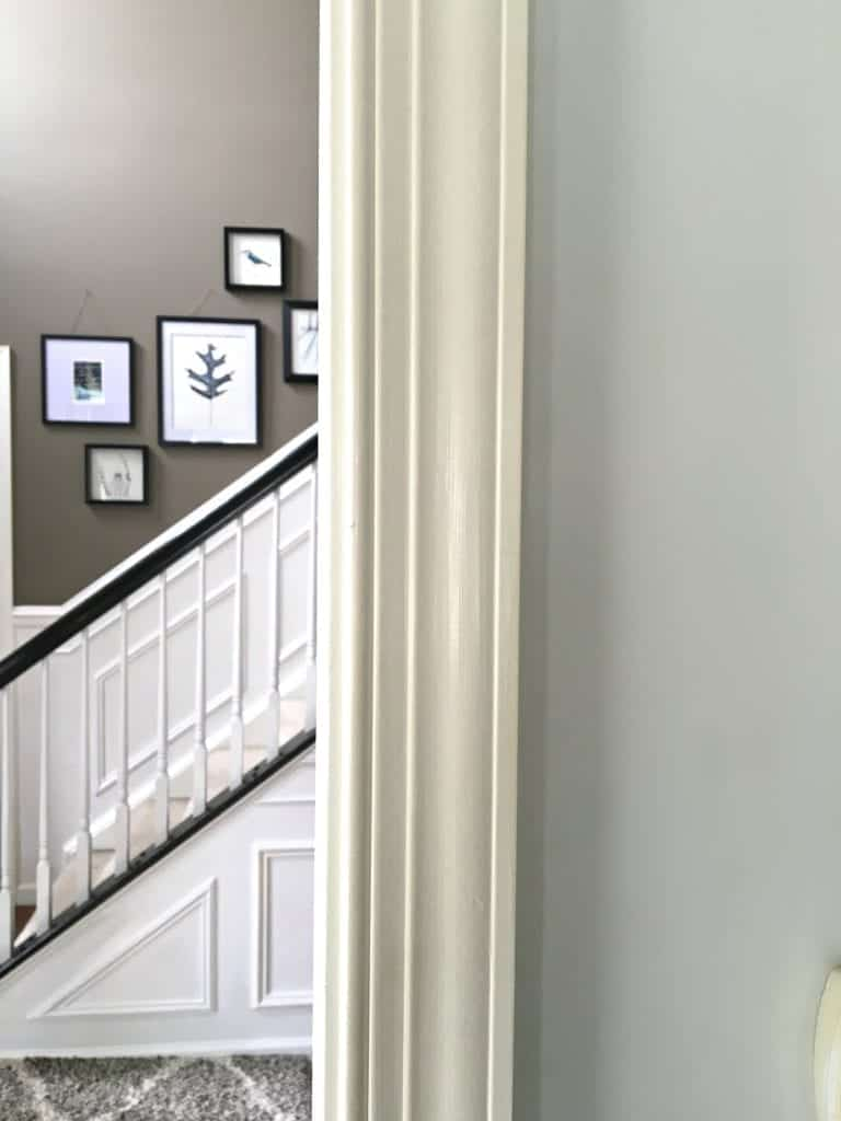 Interior Paint Projects Yellowing Trim by SnazzyLittleThings