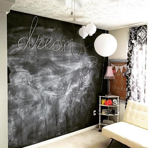 Tween Girl ChalkBoard Wall