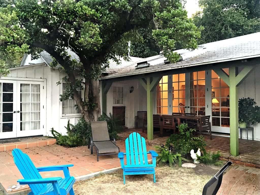Back of house veranda