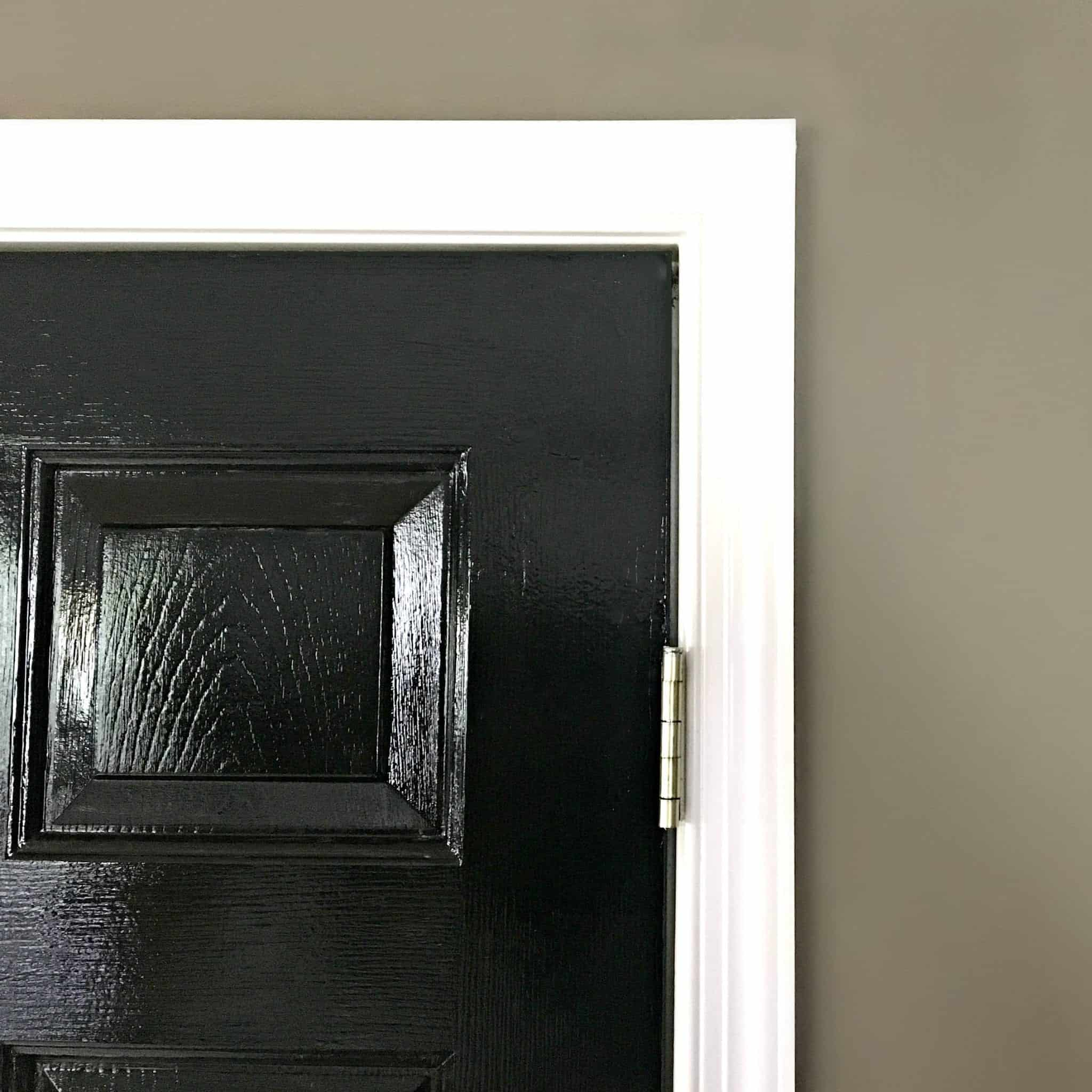 Black Interior Door High Gloss By Snazzy Little Things