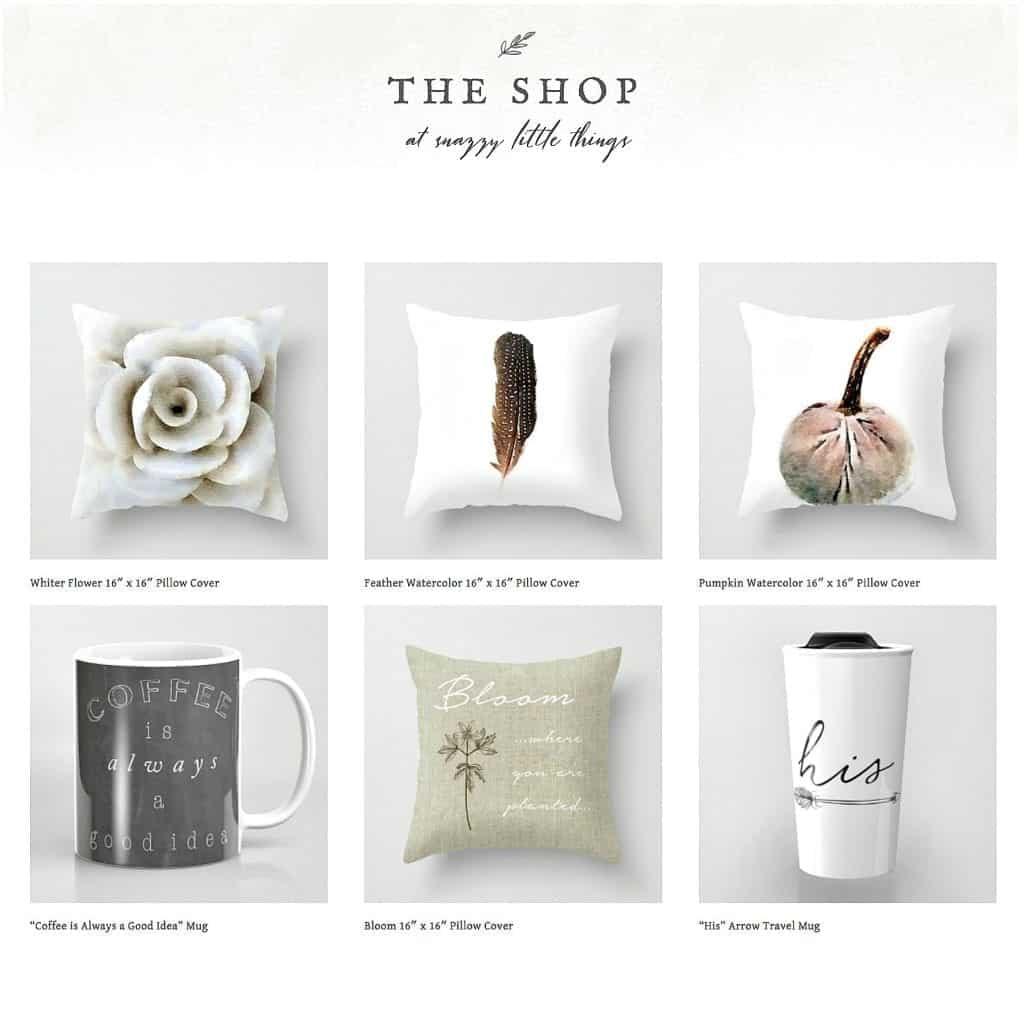 society6 online shop