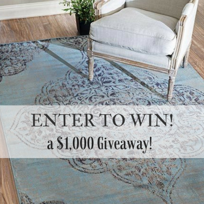 A $1000 giveaway from Rug Expedition