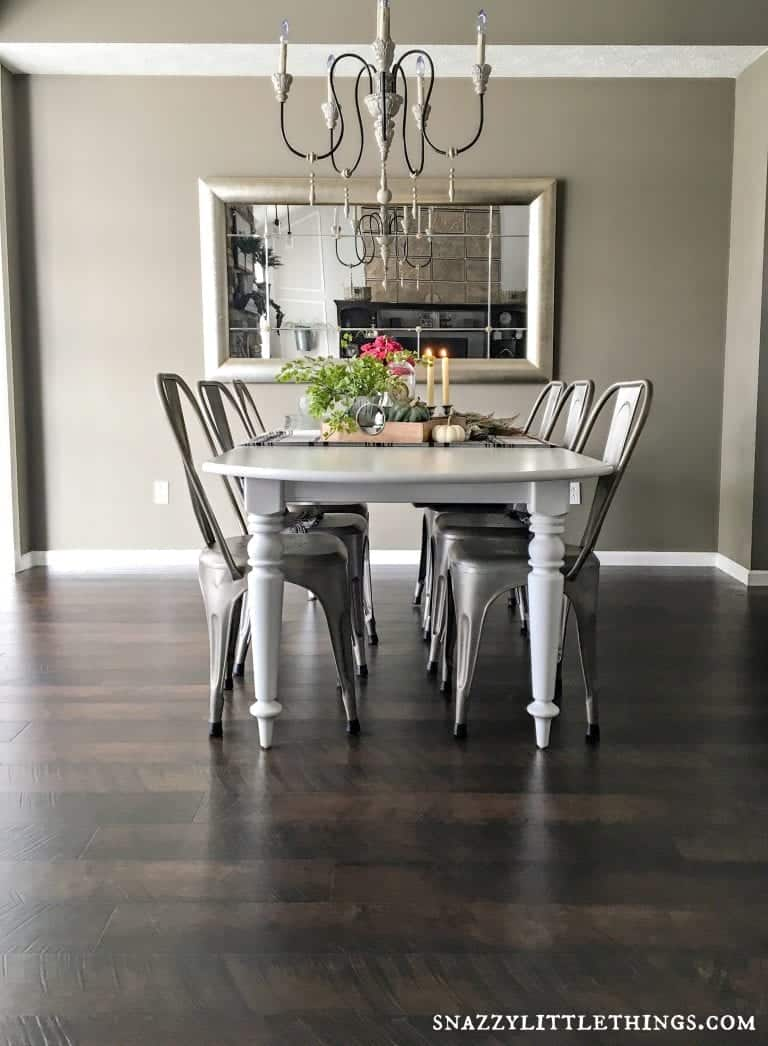Pergo Flooring Dining Room Reveal