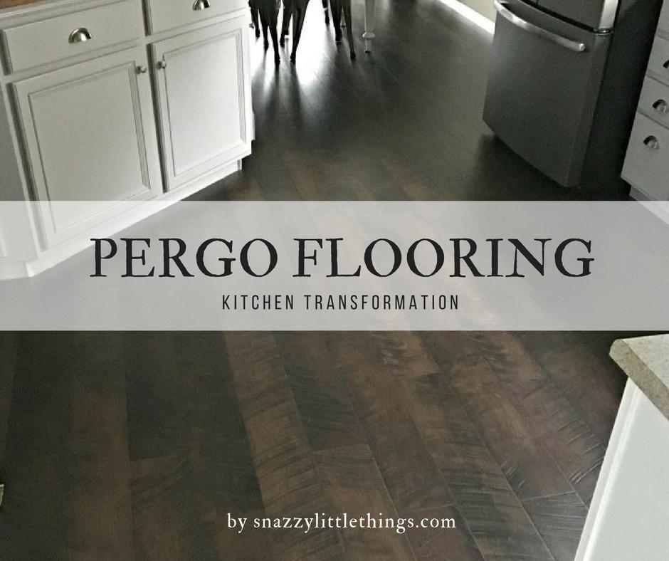 pergo flooring kitchen reveal