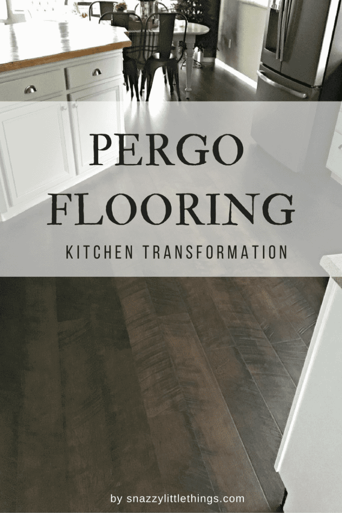 pergo flooring our kitchen reveal snazzy little things. Black Bedroom Furniture Sets. Home Design Ideas