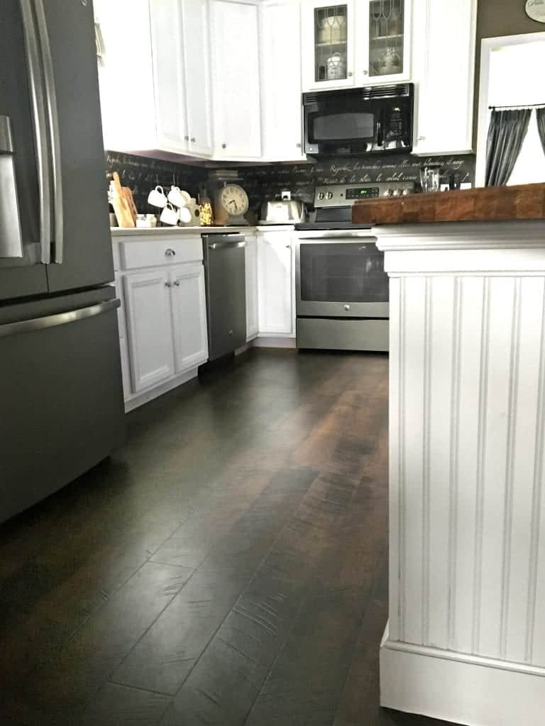 Pergo Flooring Kitchen Reveal - How much is pergo flooring