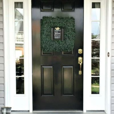 Glossy-Black-Front-Door-snazzylittlethings-817x1024