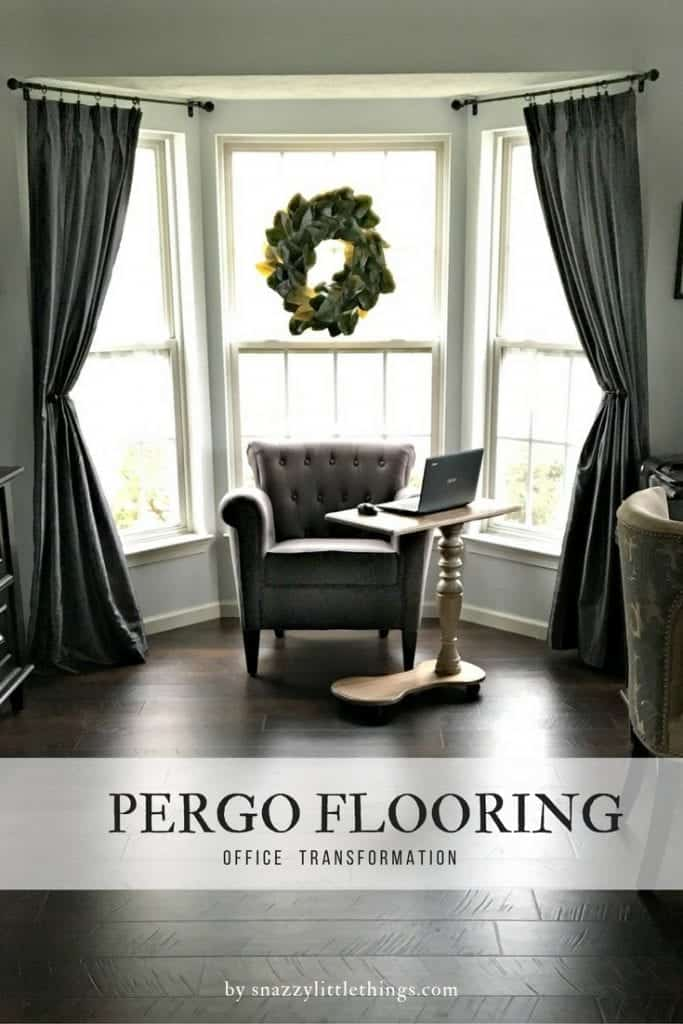 Pergo Flooring Office Reveal 2