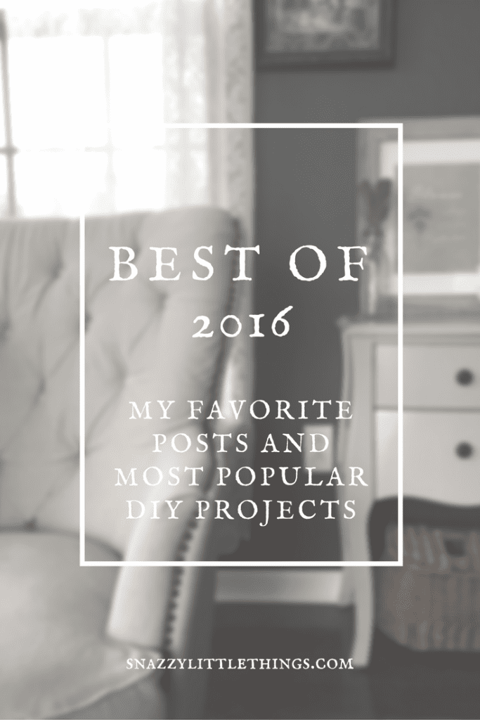 DIY / Home Decor / Travel: The Best of Snazzy Little Things 2016