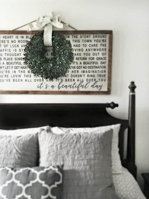 Master Bedroom Beautiful Day Art Cover